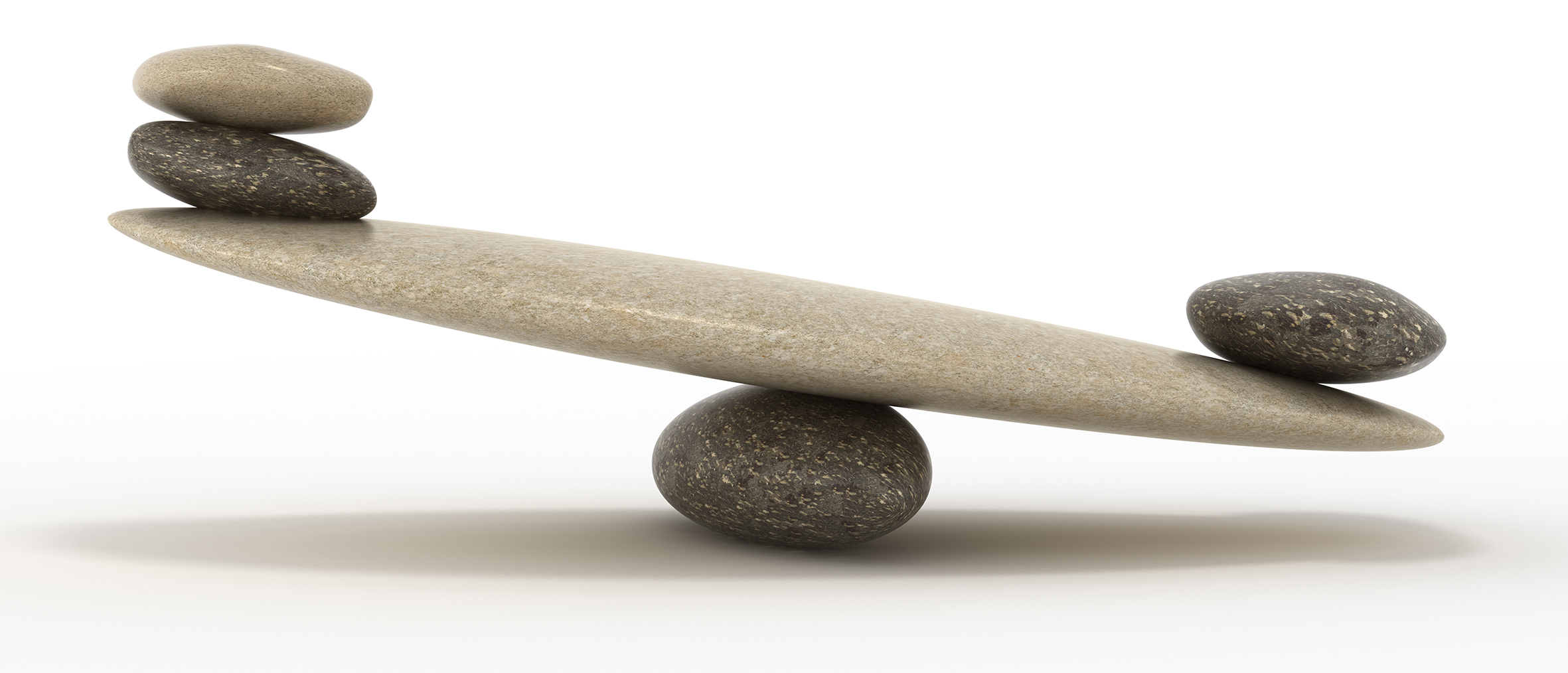 Something weighty. Pebble stability scales with large and small stones. Extralarge resolution